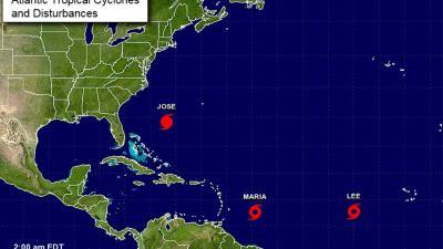 Nieuwe orkaan trekt richting Bovenwindse Eilanden