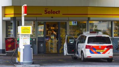 Politie maakt jacht op gewapende overvallers tankstation Den Bosch