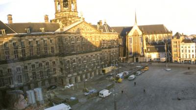 Maatregelen tegen wildplassen tegen Koninklijk Paleis Amsterdam