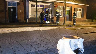 Slagerij in Schijndel blauw om vergeten pan op het vuur