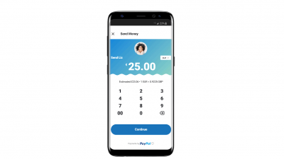 Geld versturen via PayPal in de Skype Mobile App