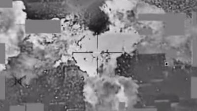Duizenden dollars IS drarrelen door de lucht na aanval VS