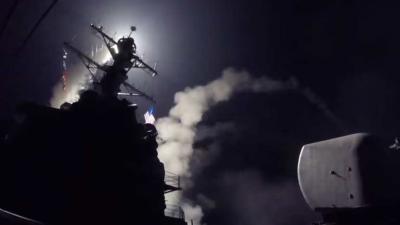 VS vuurt raketten af op Syrië vanwege gifgasaanval