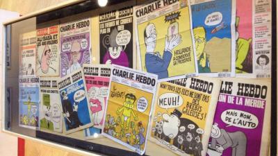 Het Persmuseum brengt hommage aan de tekenaars van Charlie Hebdo