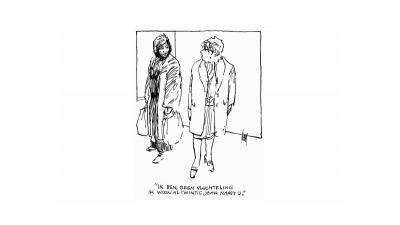 Vijfde Inktspotprijs voor tekenaar Peter van Straaten