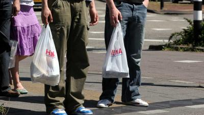 Gratis plastic tasje per 1 januari in de ban