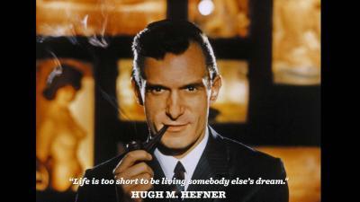 Oprichter van Playboy Hugh Hefner overleden