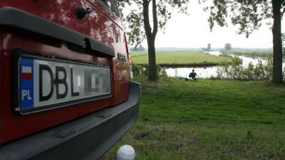 auto met Pools kenteken
