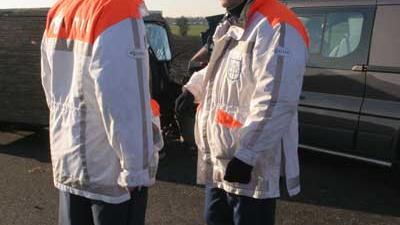 Foto van politie bij aanrijding | Archief EHF