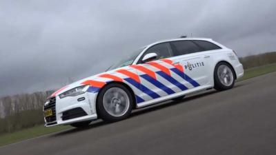 Binnenkort op de weg het nieuwe snelle interventievoertuig Politie