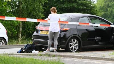 Foto van de gecrashte auto | Herman van Oost | www.vanoostfotografie.nl