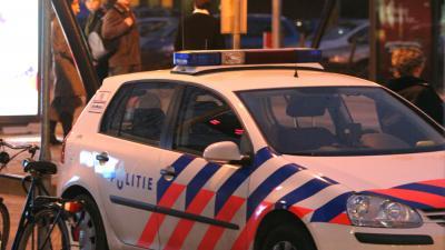 Foto van politie auto's in donker   Archief EHF