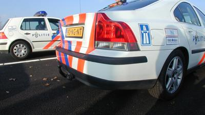 Foto van politieauto's op snelweg | Archief EHF