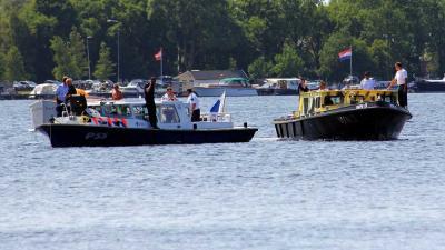 Foto van politieboot op water | BON