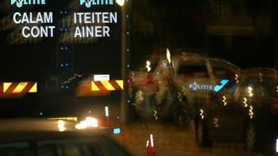 Foto van politie schietpartij donker | Archief EHF