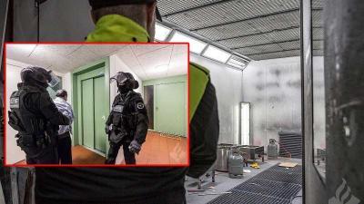Politie ontmanteld netwerk drugsproductie; acht personen aangehouden