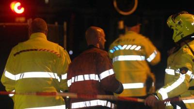 Foto van politie in donker | Archief EHF