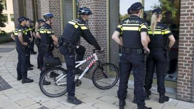 Foto van nieuwe politieuniform | Politie