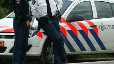 foto van schietpartij | politie twitter