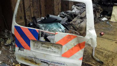 recycling, politie