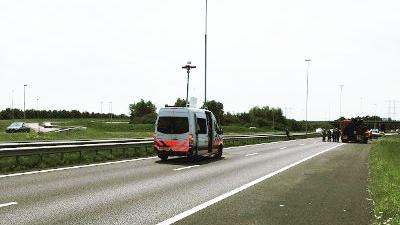 Twee doden bij aanrijding A65 bij Berkel-Enschot