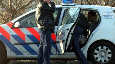 Foto van aanhouding door politie | Archief FBF