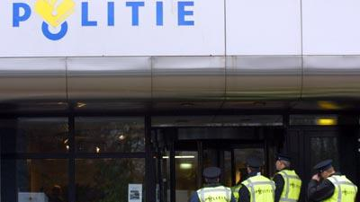 Foto van politiebureau agenten | Archief EHF