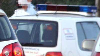 Foto van aanhouding politie | Archief EHF