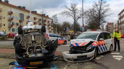 politieauto-aanrijding-kop