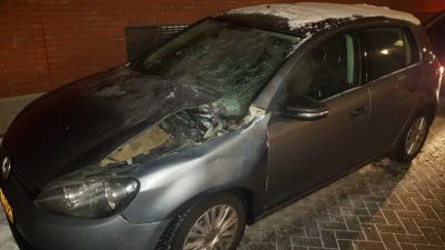 politieauto-explosie