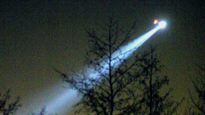 zoeklicht-politiehelikopter-avond