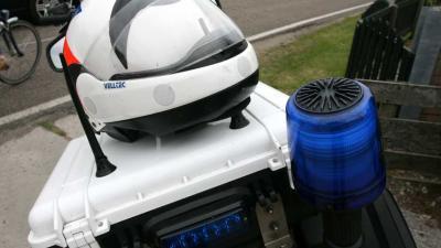 Twee zwaargewonden bij ongeval met gestolen motor