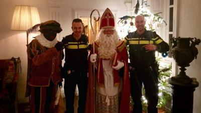 Sint en Piet op Nieuwjaarsdag leidt tot belletje naar politie