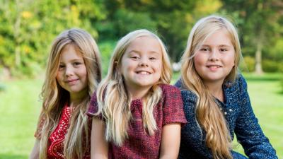 Nieuwe foto's van prinsesjes