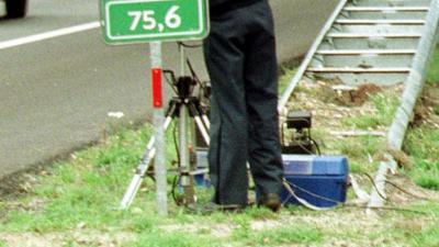 foto van radar politie   fbf archief