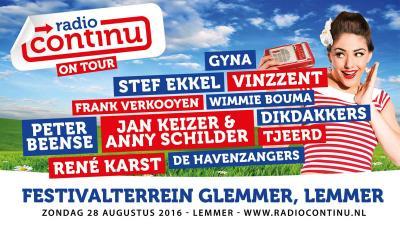 Radio Continu On Tour op het strand van Lemmer