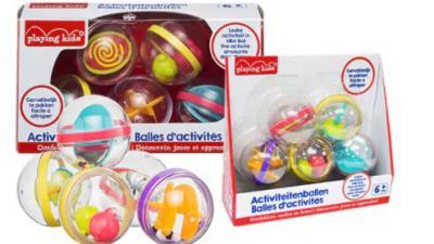 Terughaalactie Playing Kids activiteitenballen Kruidvat