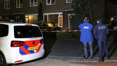 Foto van recherche onderzoek bij woning | Sander van Gils | www.persburosandervangils.nl