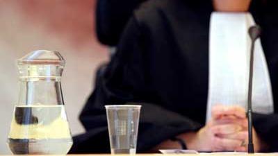 Foto van rechter in toga | Archief EHF