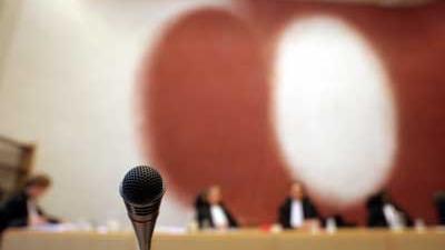 Foto van rechtbank | Archief EHF