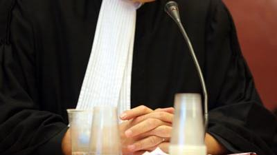 Foto van rechter in toga   Archief EHF