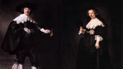 Twee schilderijen Rembrandt te koop