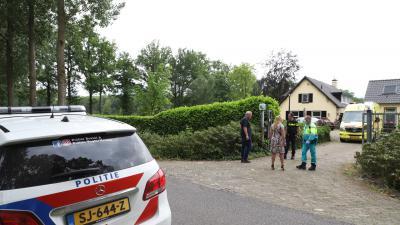 Hulpverlening bij ongeval in Liempde