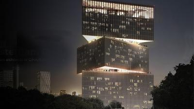 Grootste hotel in de Benelux van Rem Koolhaas bij RAI Amsterdam
