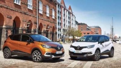 Renault Captur in een nieuw jasje