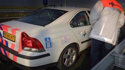 Foto van politie auto snelweg | Archief EHF