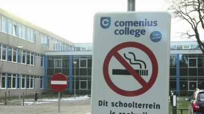 Roken op helft schoolpleinen al een taboe