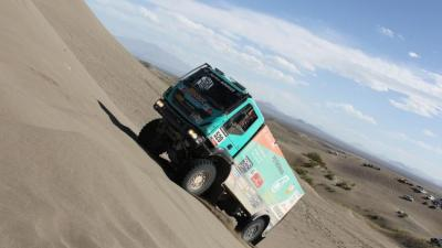 Foto van de Rooy Dakar   Iveco