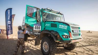 De Rooy plankgas door eerste etappe in Mauretanië