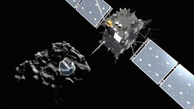 Rosetta-sonde te pletter geslagen op Komeet, 'mission completed'